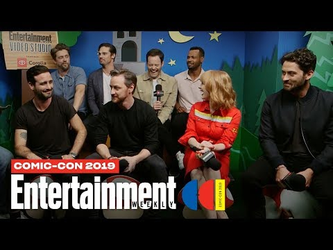 'It Chapter Two' Stars Bill Hader, James McAvoy Cast LIVE | SDCC 2019 | Entertainment Weekly