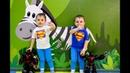 Потеряли роботов в детской игровой комнате