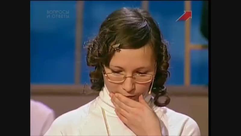Умницы и умники (Первый канал, 25.03.2007)