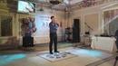 Дмитрий Герасимов Васильковое платье Концерт в ресторане Гладиатор 15 05 19