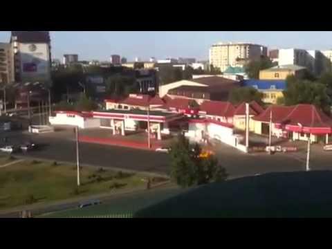 Взрыв авто-заправки в Махачкале.