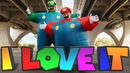 Kanye West Lil Pump - I Love It (MARIO vs LUIGI Remix)