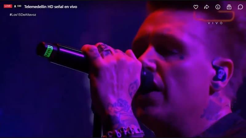PapaRoach - Forever | Live at Altavoz Festival Medellin | 12/11 | Papa_Roach
