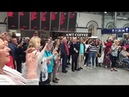 WATCH: Incredible moment over 120 voices belt out Pink Floyd 'Wish You Were Here' at Dublin's Heu...