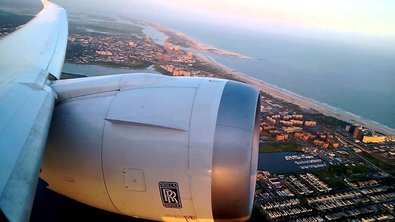 LO 007 JFK-WAW Boeing 787 Dreamliner