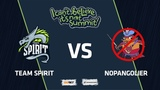 Team Spirit vs NoPangolier, Game 1, Playoff, I Can't Believe It's Not Summit
