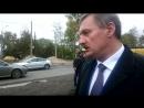 Про отсутствующий тротуар на Ленинградском напротив Макси 2018 09 20 5316