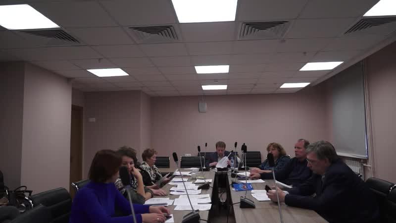Заседание Совета депутатов муниципального округа Южное Бутово 18 12 2018г (без купюр)