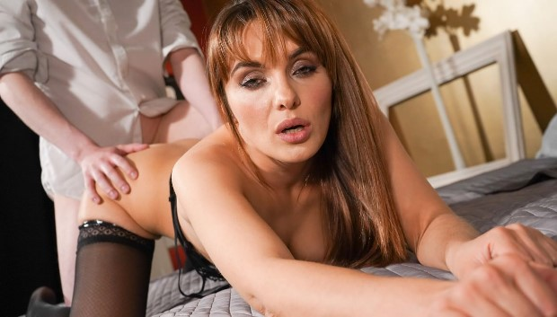 MomXXX - MILF creampie from younger lover