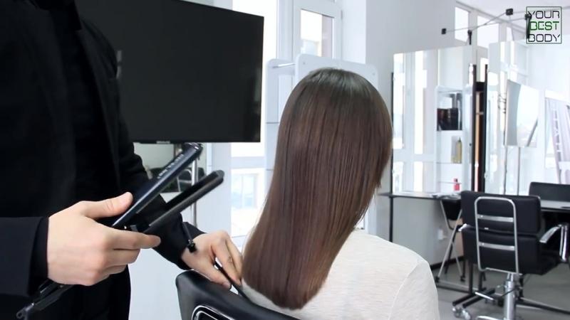 Как правильно выпрямлять ВОЛОСЫ УТЮЖКОМ How to Straighten Your Hair YourBest