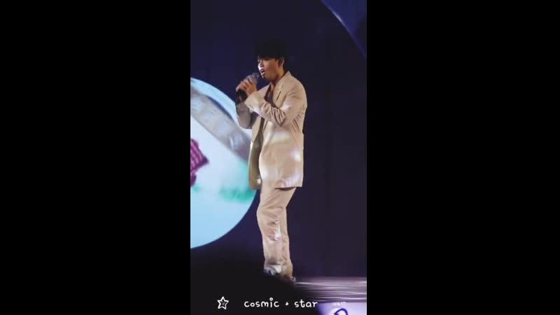 [Zhu Xingjie] Выступление Синцзе с EXO's Growl Christmas Eve на мероприятии Hoegaarden福佳啤酒 190714