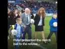 Peter Stockton had been a Chesterfield FC fan for 65 years he passed away yesterday