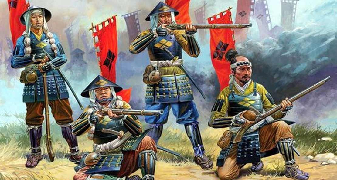 Асигару с мушкетами
