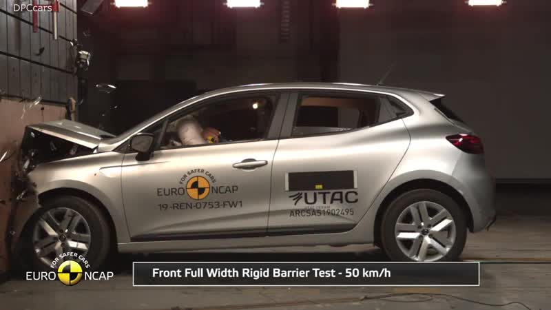 Renault Clio Safety Crash Test 2019