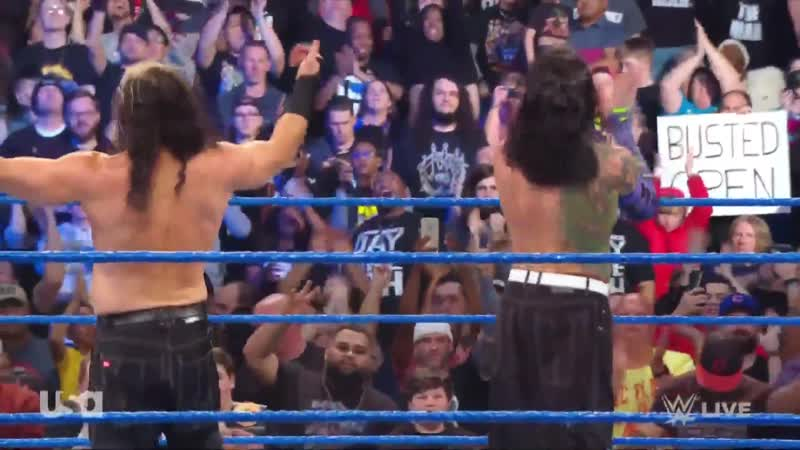 SD 26.02.2019: Братья Харди (Matt Hardy Jeff Hardy) vs. Тhе Bar