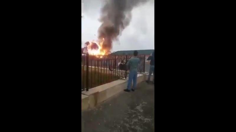 Вчера в Чечне бабахнула💥 бензоколонка ⛽️