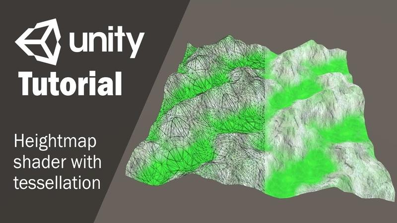 Создание шейдера карты высот в Unity 3D с использованием Shader Forge