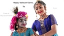 Kids' Duet Yashoda Krishna by Arshita Murugadoss Maya Swaminathan Sridevi Nrithyalaya