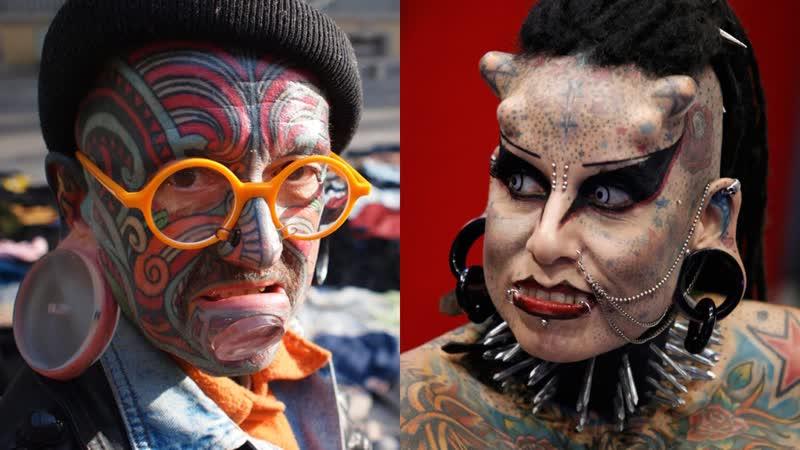 Люди, которые изменили свою внешность почти до неузнаваемости!