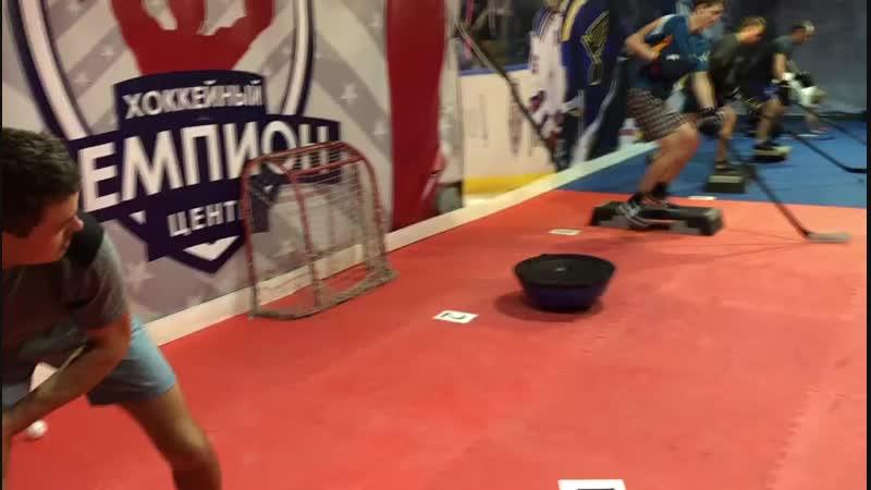 Тренировка Русич-ЛГТУ в хоккейном центре ЧЕМПИОН!