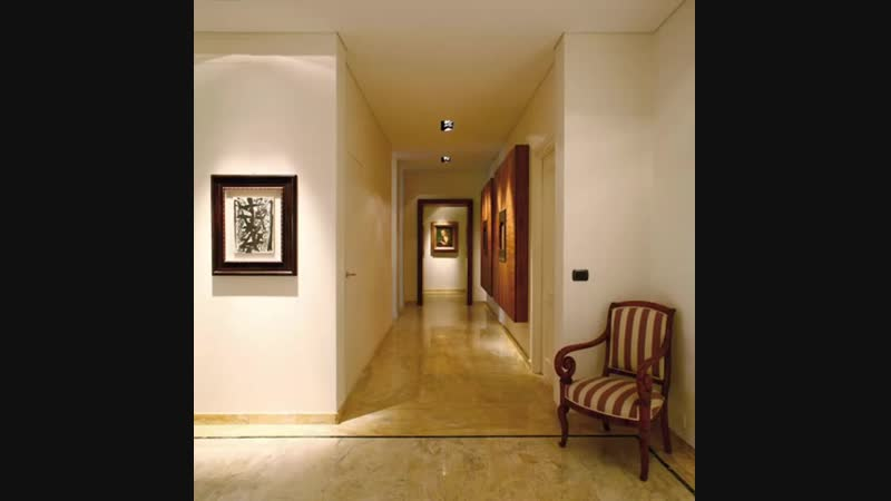 Элегантный дизайн узкого коридора - Проект « Квартира »
