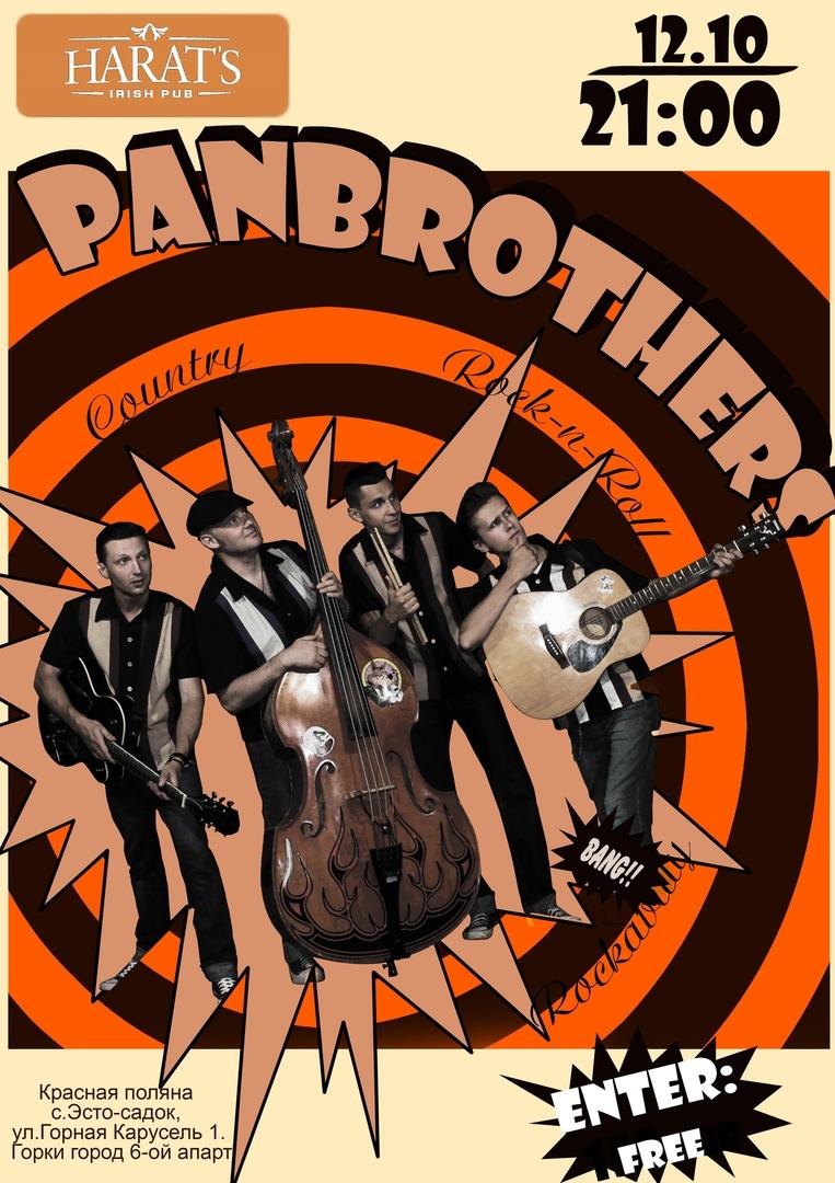 12.10 Panbrothers в Harat's Pub