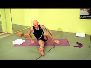 SLs Йога для начинающих. Как сесть в Позу Лотоса. Падмасана