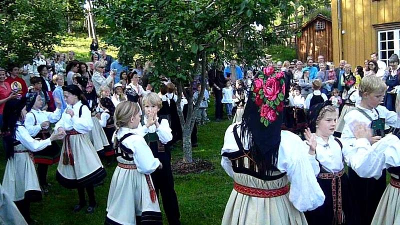 Norwegian Folk Dance-Children