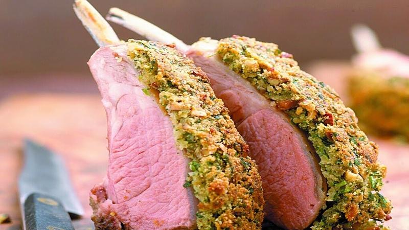 Каре ягненка с травами - знаменитое фирменное блюдо Гордона Рамзи