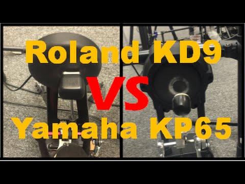 Roland KD9 vs Yamaha KP65