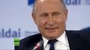 Alles aufgegessen Warum man Putins Leibwächtern besser keine Geschenke für den Präsidenten gibt