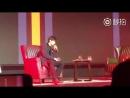 181013 — Выступление Цай Сюйкуня с песней You Can Be My Girlfriend сегодня на конференции по обмену музыкой в Чэнду.