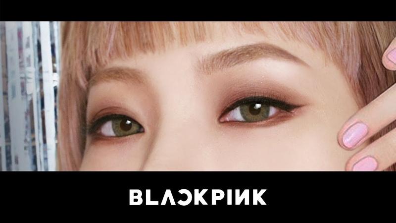 ENG) 블랙핑크 리사 메이크업 BLACKPINK Lisa ✧ Half Makeup | 코코초