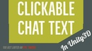 Clickable Chat Text in Unity3D - For Item tooltips or anything else