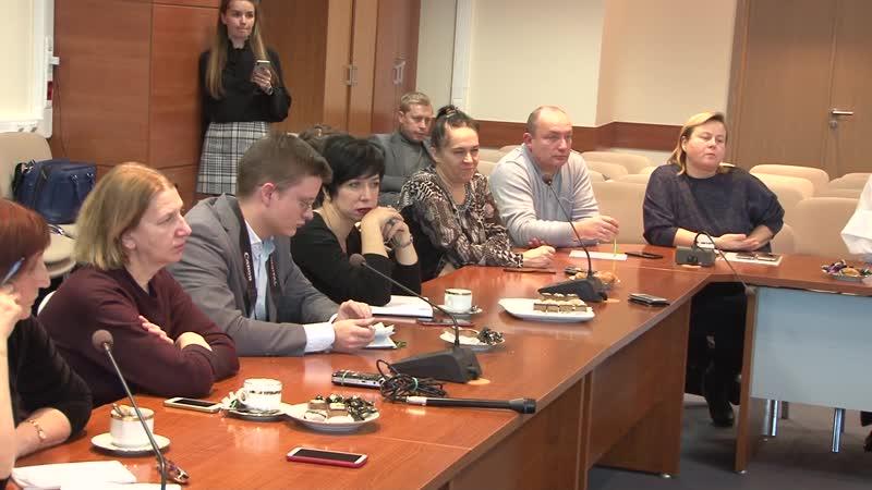 2018-12-05 - Как преобразится Дмитровское шоссе. Пресс-конференция министра благоустройства МО (Лобня)