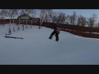 Трюки 5-летней сноубордистки Василисы Ермаковой