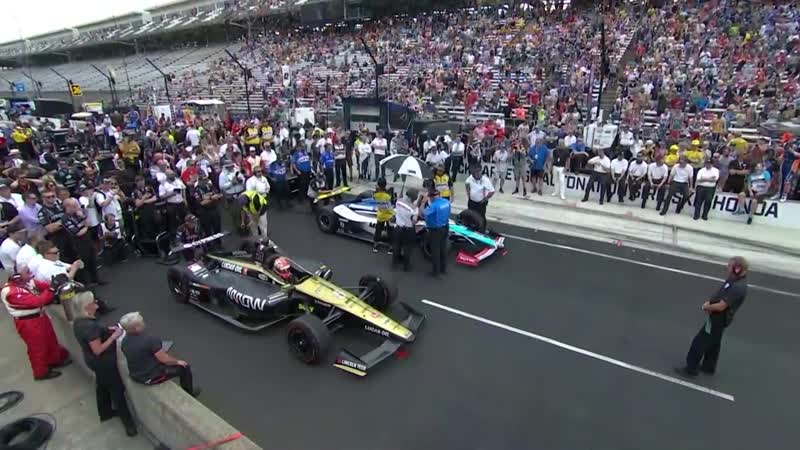 Indycar Series 2019 Round 6 Indianapolis 500 Pit Stop Competition