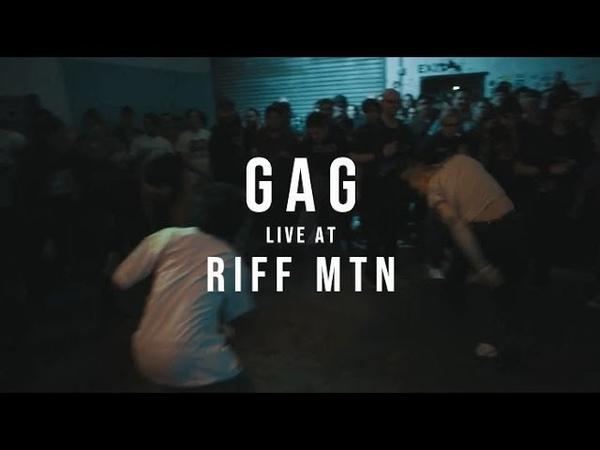 Gag 01 26 19 Live @ Riff Mtn