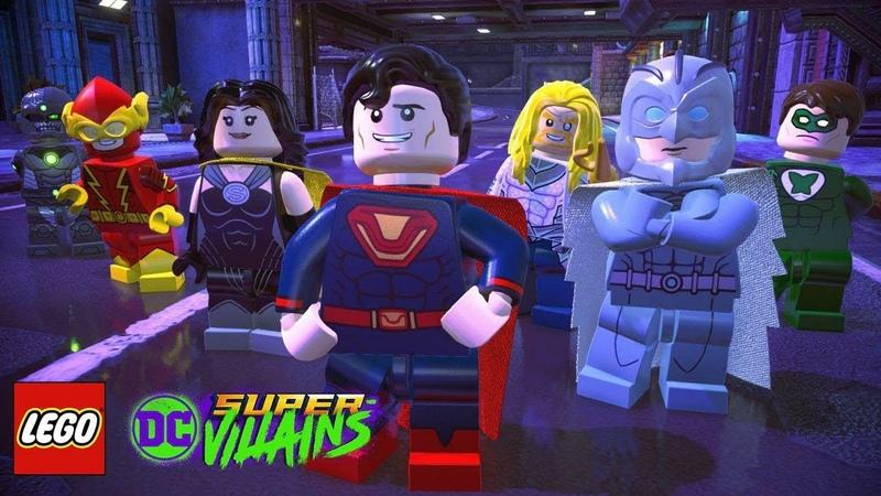 LEGO DC Суперзлодеи Super Villains русская озвучка 1 5 части Прохождение игры лего