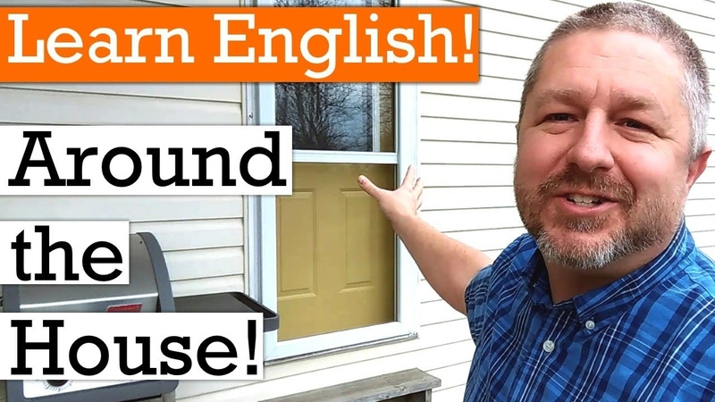 Let's Learn English Around the House and Home   English Video with Subtitles