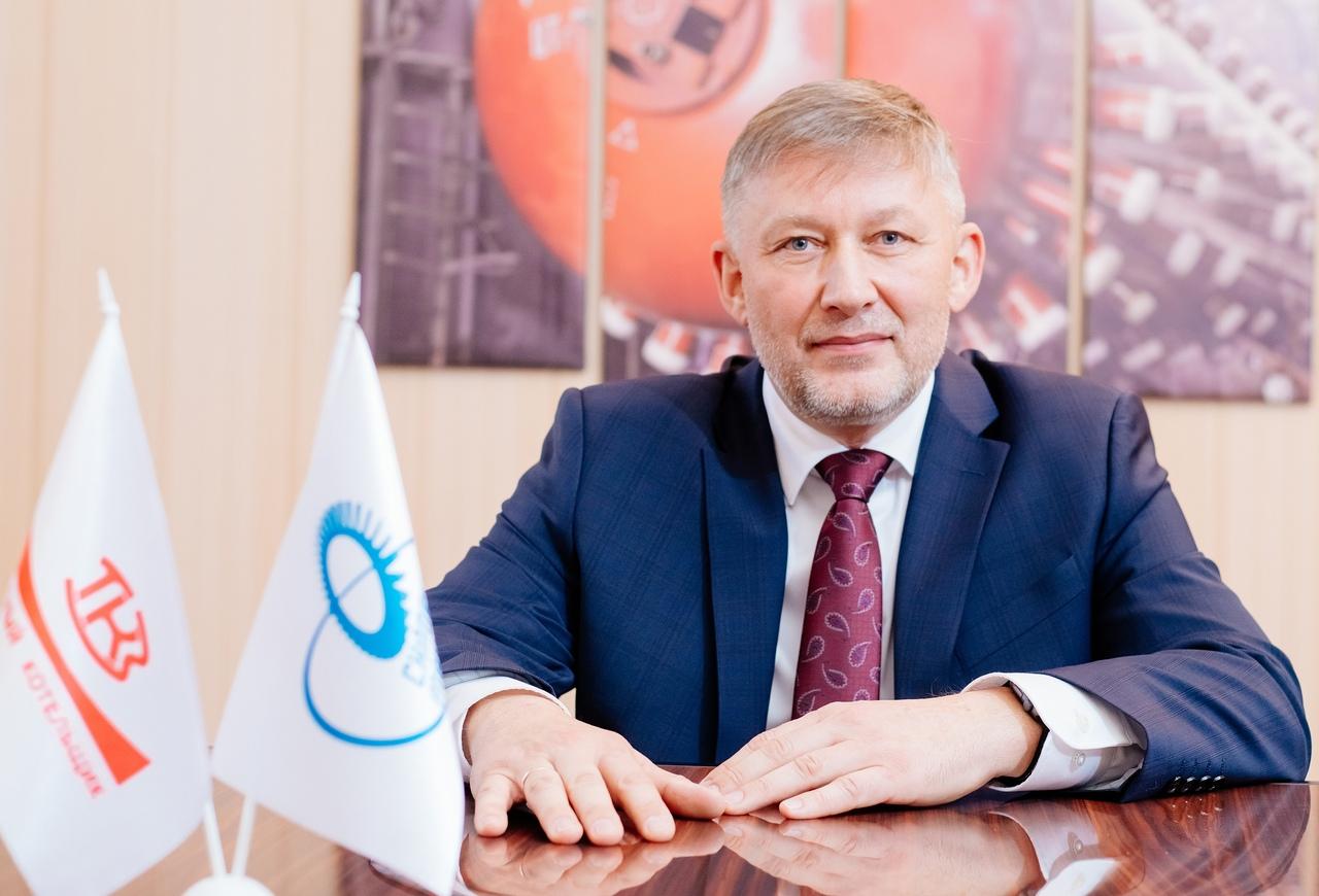 Генеральный директор «Красного котельщика» Александр Тараканов