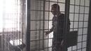 Лидер Курагинской ОПГ Ащеул ломает клетку на очной ставке