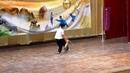 102全國武術表演大會 八極拳協會科博館教練場 許金印教練領隊 劈掛雙刀