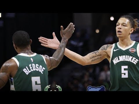 Milwaukee Bucks vs Memphis Grizzlies - Full Game Highlights Jan 16, 2019 2018-19 NBA Season
