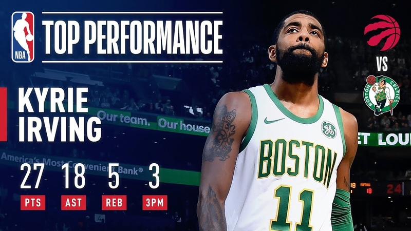 Kyrie Irving Drops 27 Points Career-High 18 Assists | January 16, 2019 NBANews NBA Celtics KyrieIrving