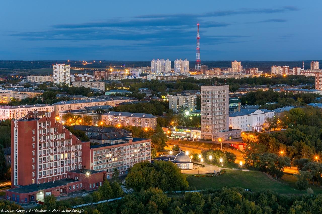 Вечерняя Пермь.