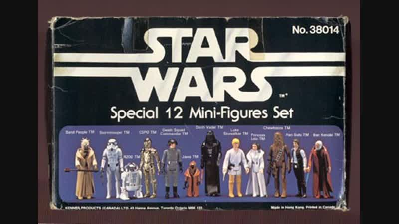 Игрушки на которых мы выросли. Серия про игрушки по Звездным войнам.
