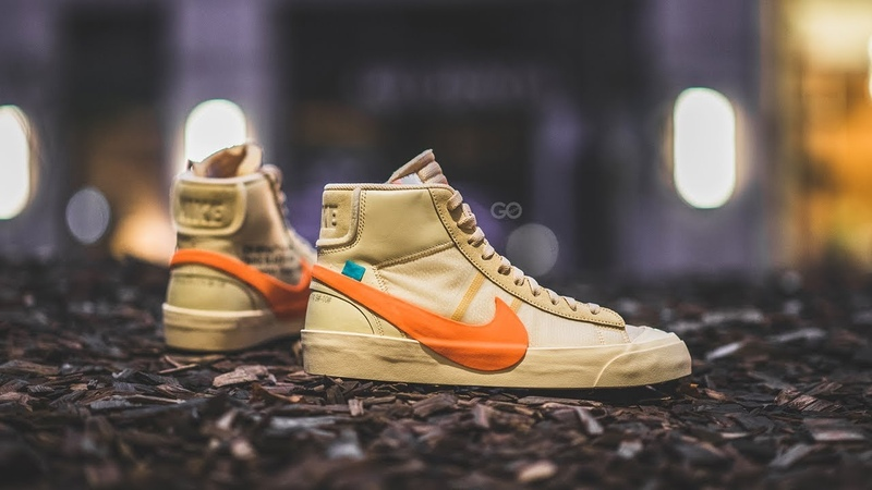 Off-White x Nike Blazer Mid All Hallows Eve Review On-Feet