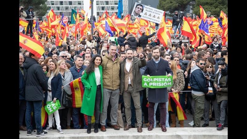 La España Viva vuelve a llenar Colón   10F