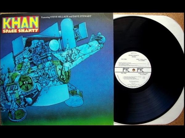 Khan Space Shanty 1972 Progressive rock, canterbury scene, jazz fusion, space rock